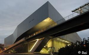 Phaeno architektur 2 for Architektur rampe